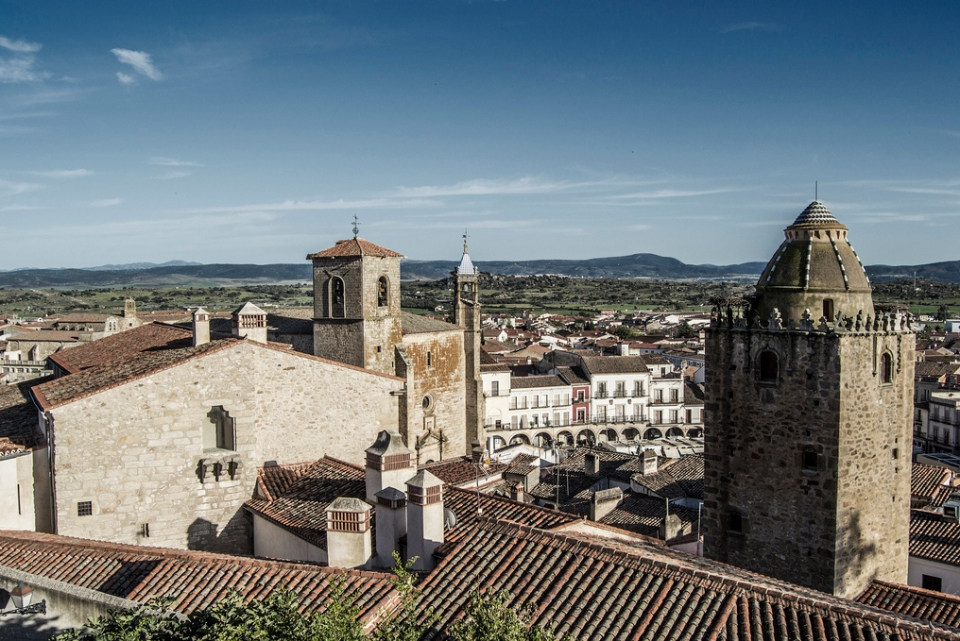 Vistas del pueblo de Trujillo
